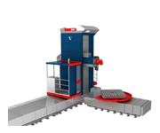 Горизонтально-расточный станок с зажимной плитой WRF Mill CNC