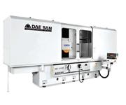 Плоскошлифовальные станки с подвижной колонной DGS-1670 2S имеют три оси с управлением программируемым логическим контроллером